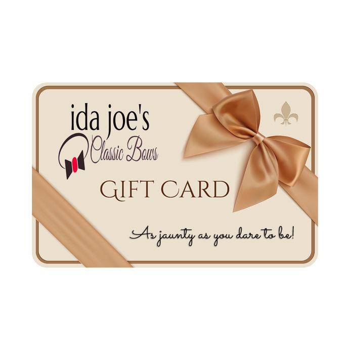Gift Card for Ida Joe's Bows